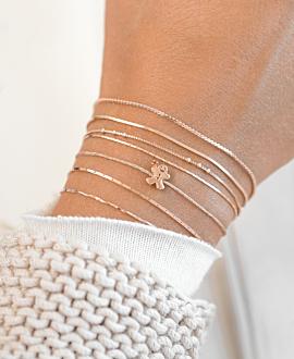 LEBKUCHENMANN  Armband Rosé