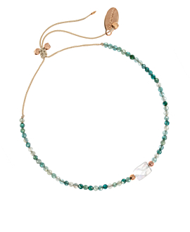 MOONSTONE BLISS  Armband Petrol