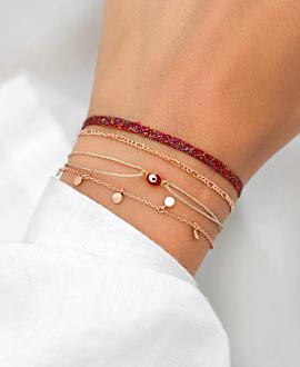 CANDENCIA Armband Rot