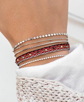 FESTIVE  Armband Rot