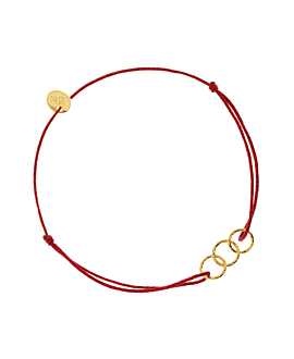 GOLDEN SHADES  Armband Rot