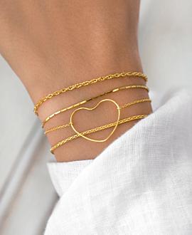 TI AMO  Armband Gold