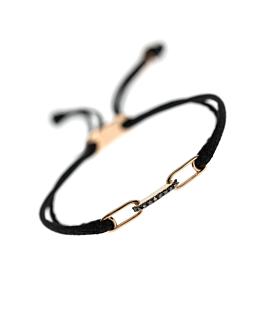 DIAMOND LINK Armband|14K Roségold