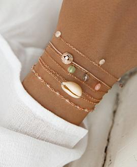 POLYGEM  Armband Pastell
