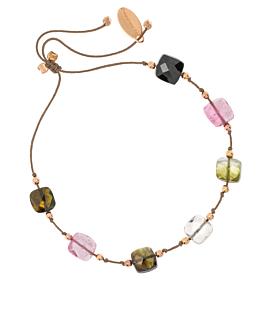 GLEE  Armband Taupe