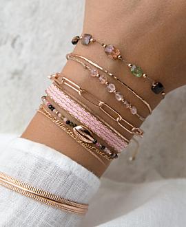 GLEE Armband Rosé