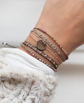 TRIBUTE Armband Schwarz