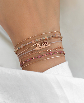 BOHO  Armband Pink