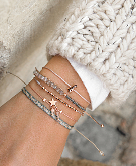 CHRISTMAS TREE Armband Beige