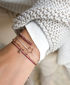 CHRISTMAS TREE Armband Bordeaux
