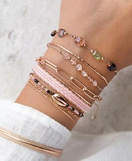 ROSE KAURI  Armband Rosé