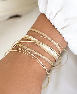 PEREIRA  Armband Beige
