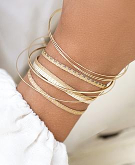 NEIVA  Armband Gold