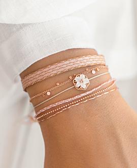 PEONY Armband Rosé