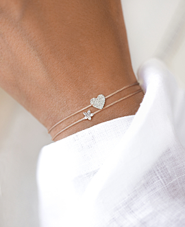 DIAMOND Armband 14K Weißgold