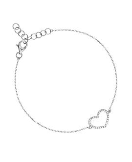 DIAMOND Armband|14K Weißgold