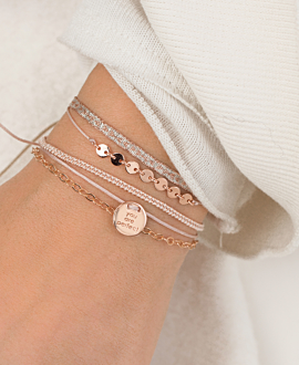 PERFECT Armband Beige