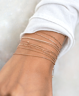 ESSENTIAL BRACELET 14K ROSE GOLD