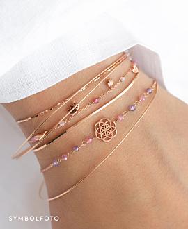 LUCKY CHARMS  Armband Silber