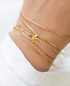 VIOLA  Armband Gold