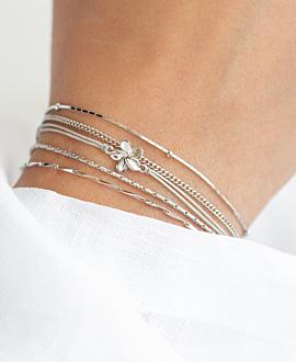 VIOLA  Armband Silber