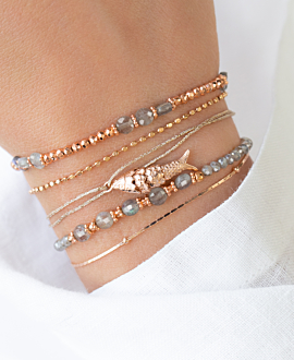 SUMMER'S DELIGHT  Armband Grau