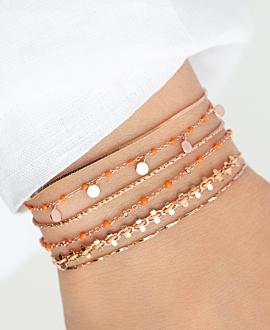 FREE SPIRIT  Armband Peach