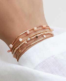 GEMMY DROPS  Armband Rosa