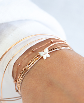 BUTTERFLY  Armband Perlmutt