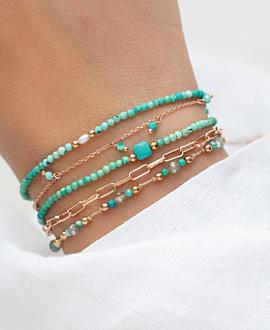 BLUE SHADES  Armband Türkis