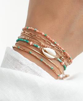 CANNES  Armband Türkis