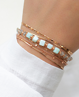 SUMMER'S DELIGHT  Armband Blau