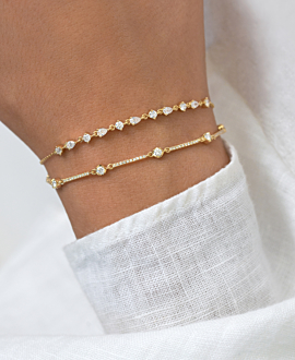 DIAMOND Armband 14K Gold