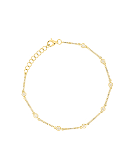DIAMOND Armband|14K Gold
