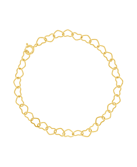 HEART CHAIN|Armband Gold