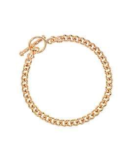 CURB CHAIN|Armband Gold