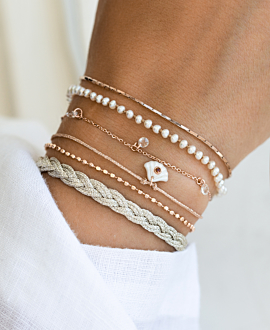 MERMAID  Armband Beige