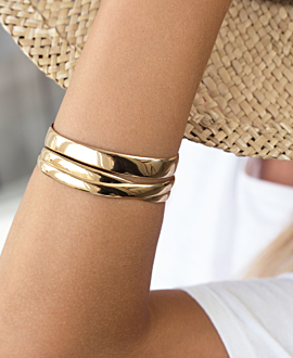 CYRA BANGLE GOLD