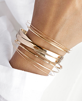QUINTIA BANGLE GOLD