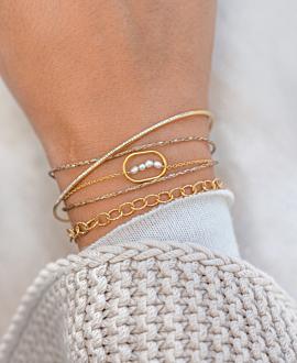 CÖTIER Armband Gold