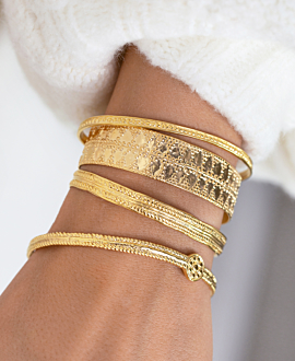 DAPHNE BANGLE GOLD