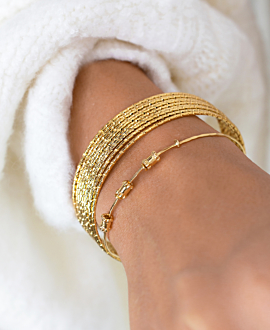 ESMÉE BANGLE GOLD