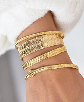 AMÉDÉE  Armreif Gold