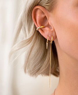 BE BOLD Ear Cuff Single Gold