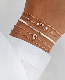BEADS Armband Rosa
