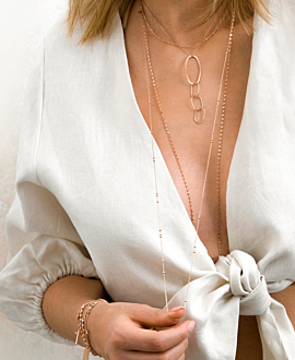 SIMPLICITY  NECKLACE ROSE