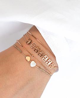 CÉLESTE  Armband Rosé