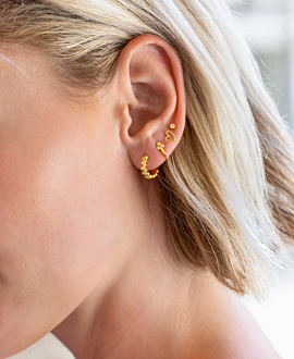 TOPAZ Ear Cuff Single Gold
