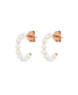 PEARL  HOOPS ROSE