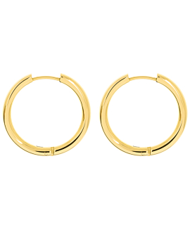 HOOPS GOLD 25 MM